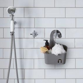 Grey Small Shower Caddy