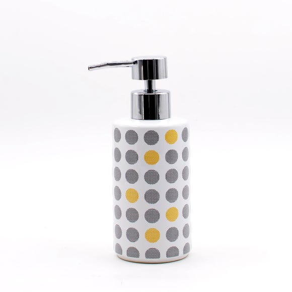 Elements Dots Lotion Dispenser MultiColoured