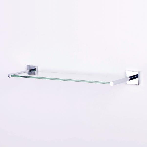 Glass Shelf Chrome