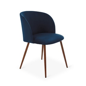 Celia Chair Midnight Blue Velvet