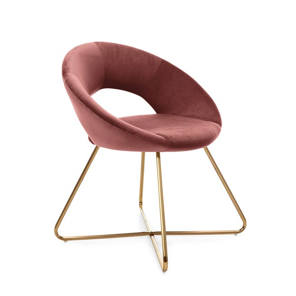 Stella Chair Rose Velvet