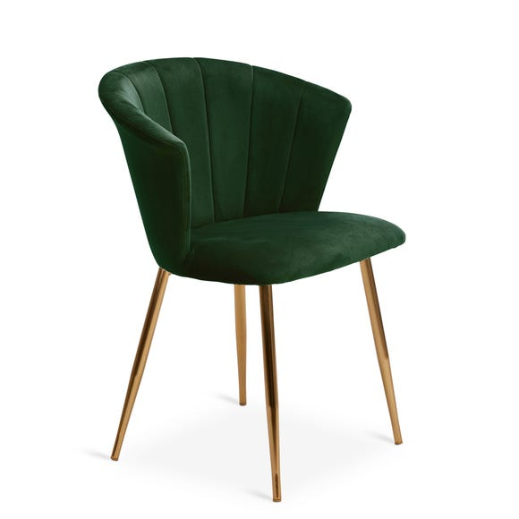 Kendall Chair Bottle Green Velvet