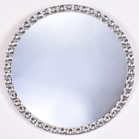 Jewel Round Mirror