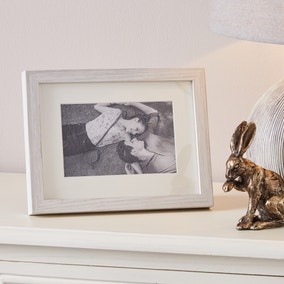 "Washed Wood Effect Photo Frame 6"" x 4"" (15cm x 10cm)"