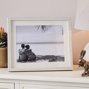 "Washed Wood Effect Photo Frame 10"" x 8"" (25cm x 20cm)"