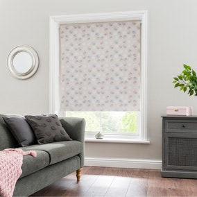 Hallie Pink Blackout Roller Blind