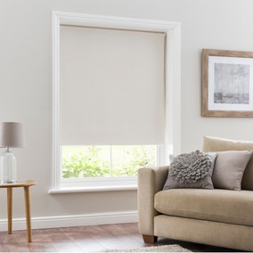 Natural Blackout Roller Blind