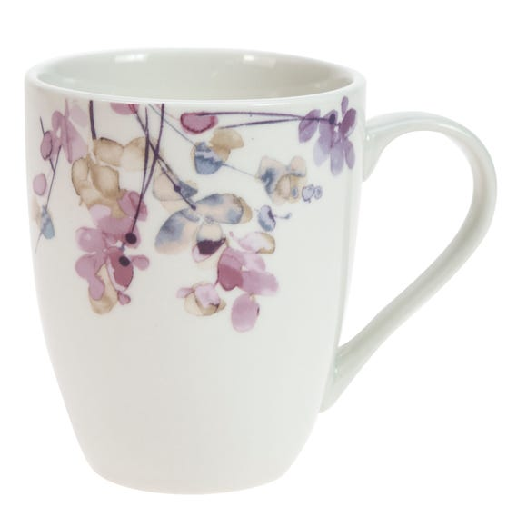 Honesty Pastel Floral Mug MultiColoured