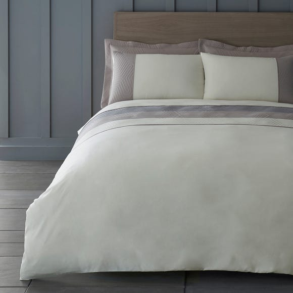 Copenhagen Natural Duvet Cover and Pillowcase Set Natural undefined