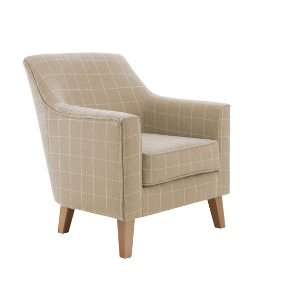 Aiden Chair Natural Check