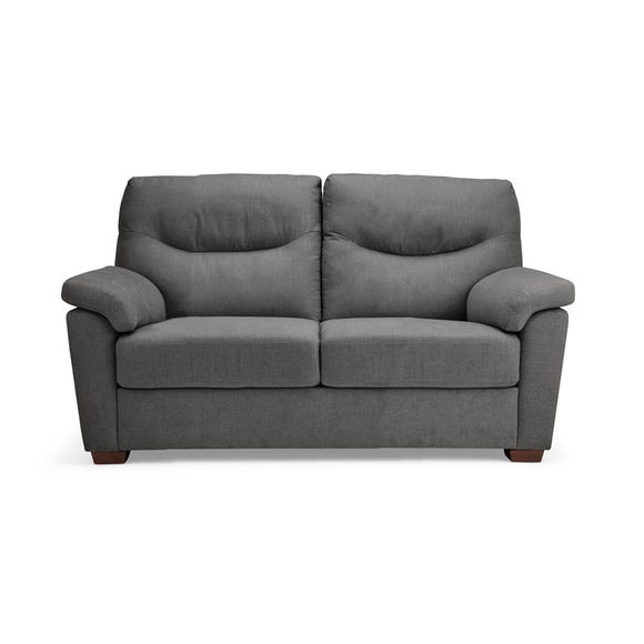 Bedford Fabric 2 Seater Sofa Grey