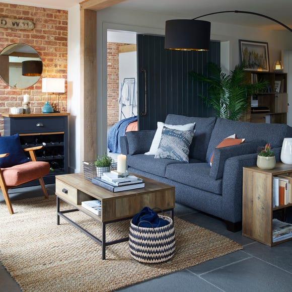 Fulton Lift Up Coffee Table Pine