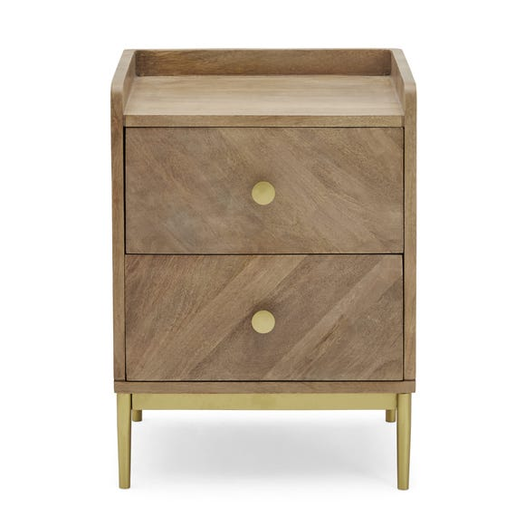 Rumi Bedside Table Brown