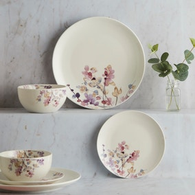 Honesty Pastel Floral 12 Piece Dinner Set