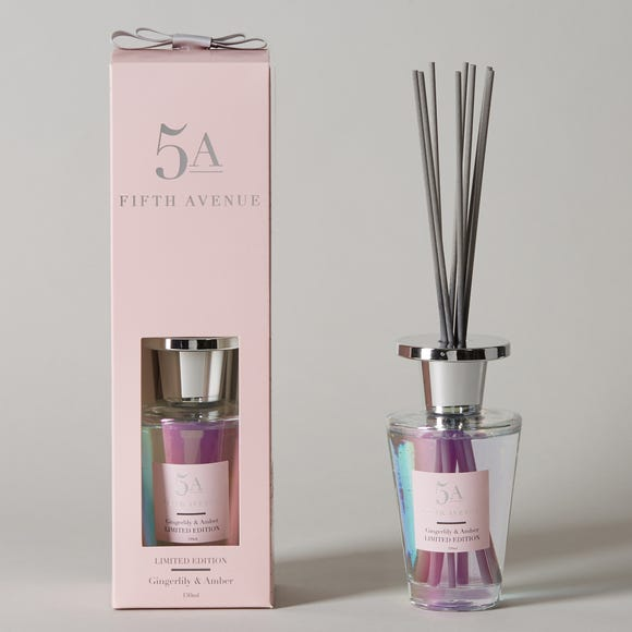 5A Fifth Avenue Gingerlily and Amber Diffuser Pink