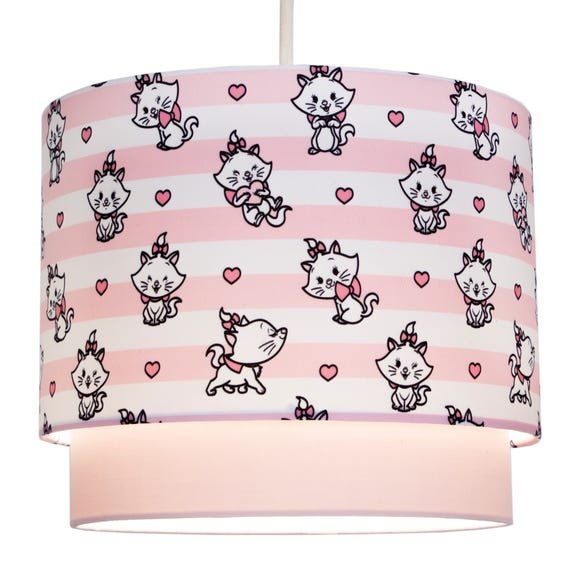 Disney Marie 2 Tier Pendant Shade Pink