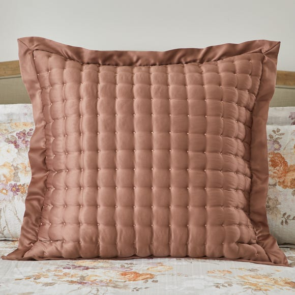 Dorma Ophelia Ginger Continental Square Pillowcase Ginger