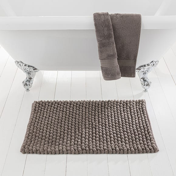 Pebble Stone Bath Mat Stone (Grey)