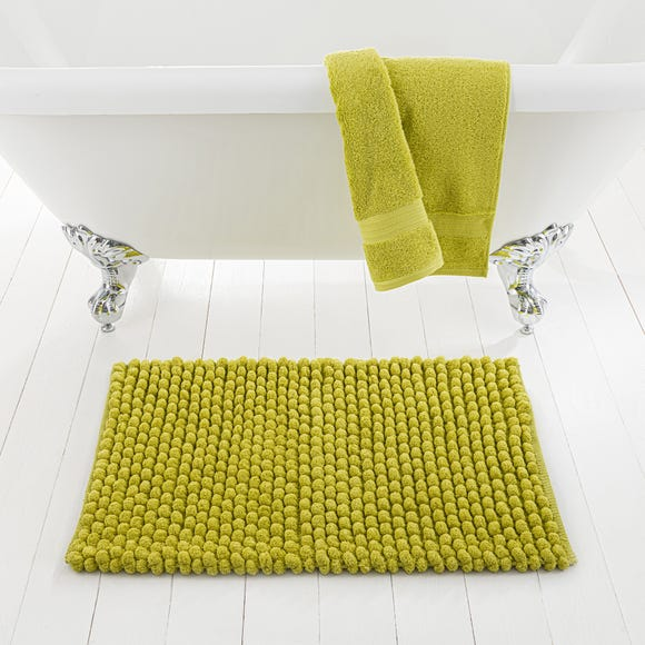 Pebble Lime Bath Mat
