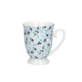 Floral Footed Mug
