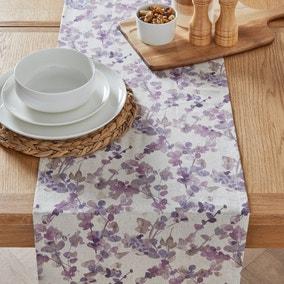 Honesty Floral Table Runner