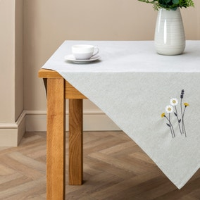 Scandi Floral Tablecloth