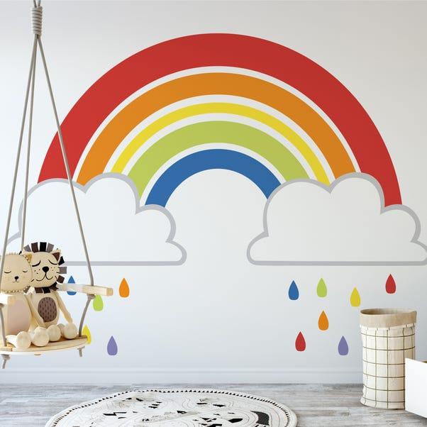 Rainbow Mural MultiColoured