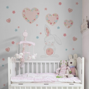 Pretty Little Bunny Wall Stickers
