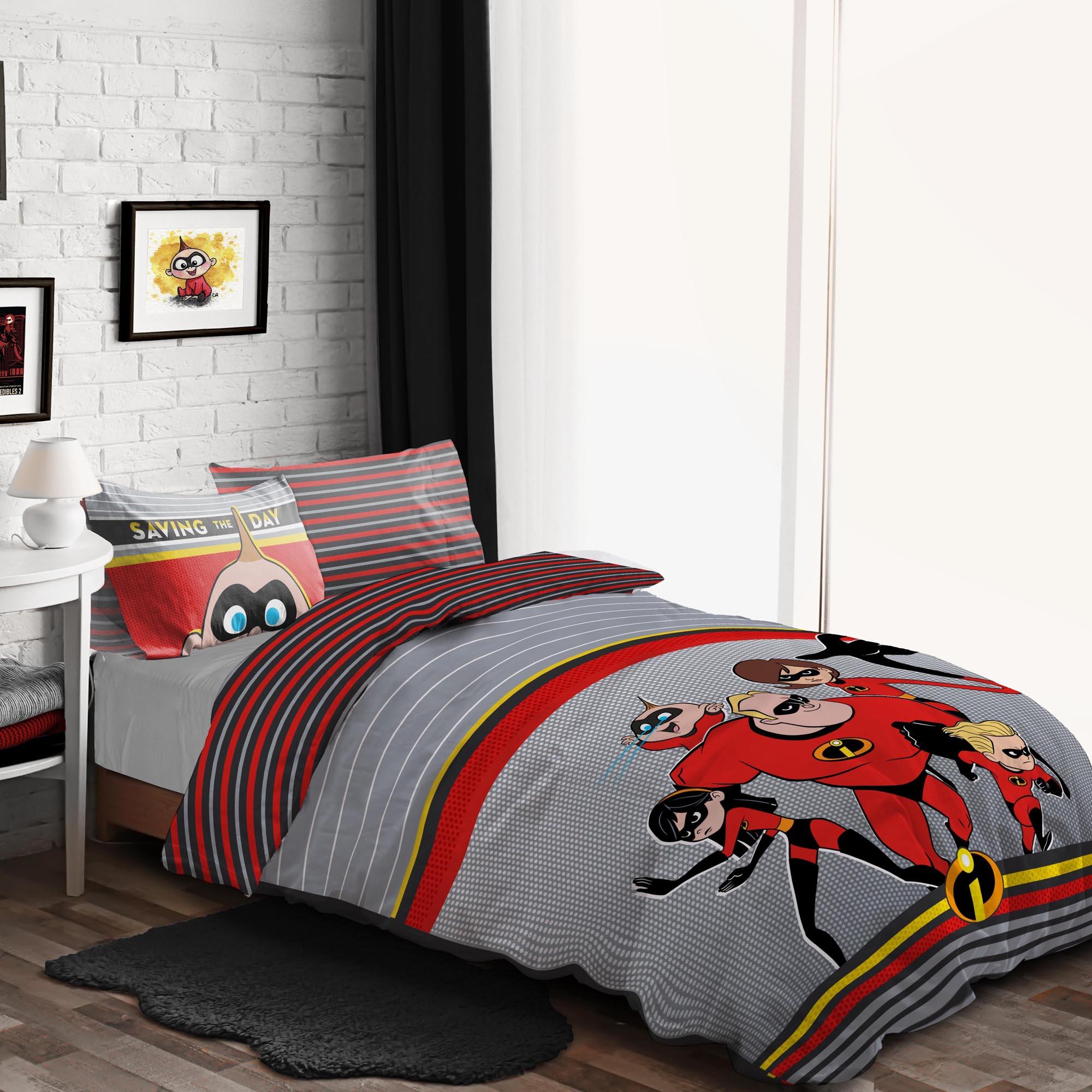 Photo of Disney incredibles duvet cover and pillowcase set multicoloured