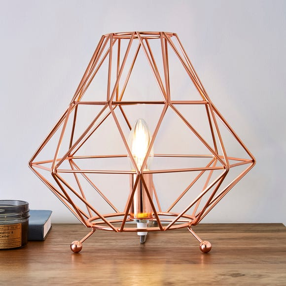 Bremen Copper Table Lamp Copper