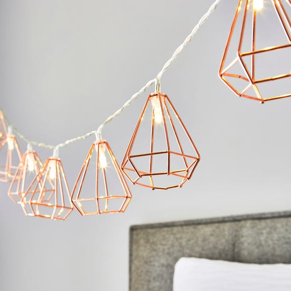 Bremen 10 Light Copper String Lights Copper