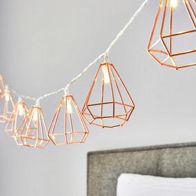 Bremen 10 Light Copper String Lights