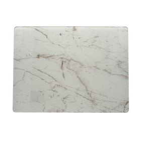 Marble Effect Glass Worktop Saver