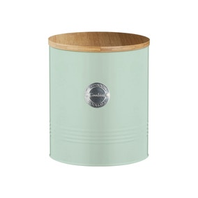 Typhoon Sage Green Cookie Tin