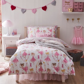 Ballet Duvet Cover and Pillowcase Set