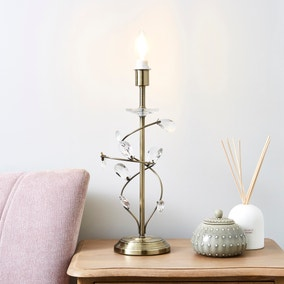 Tally Copper Table Lamp Base