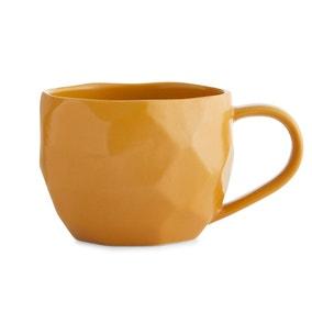 Large Ochre Mug
