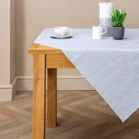 PVC Grey Tablecloth