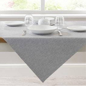PVC Grey Tablecloth