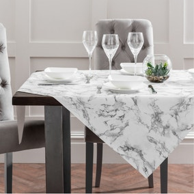 PVC Marble Tablecloth