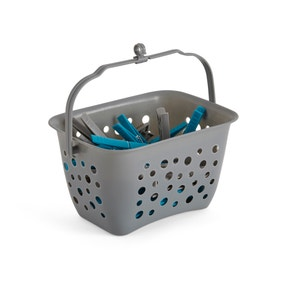 40 Pegs with Peg Basket