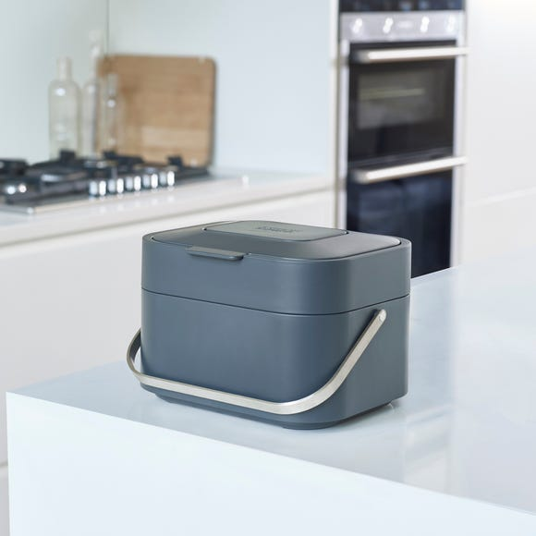 Joseph Joseph Stack 4 Food Waste Caddy Graphite (Grey)