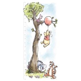 Disney Winnie The Pooh Height Chart Sticker