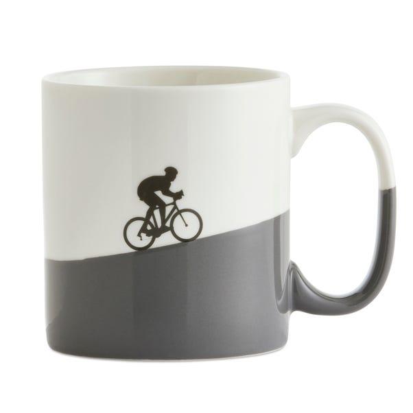 Oversized Bike Mug White