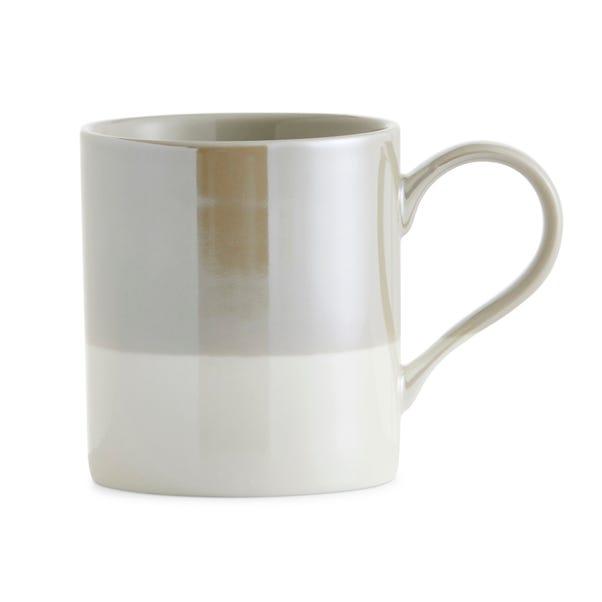 Dipped Lustre Grey Mug Grey