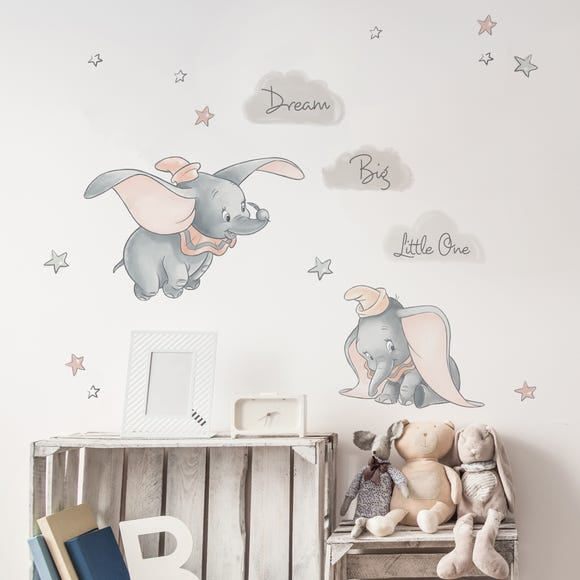 Disney Dumbo Wall Stickers Grey
