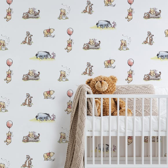 Disney Winnie the Pooh Wallpaper MultiColoured