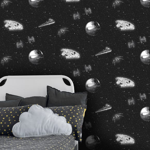 Disney Star Wars Wallpaper Black