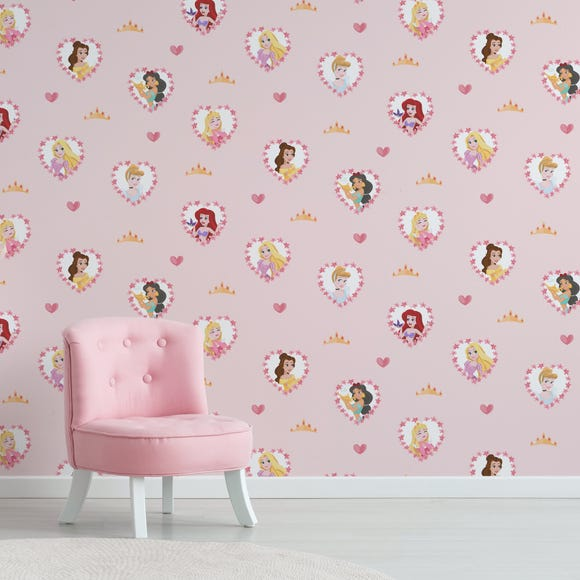Disney Princess Wallpaper Pink