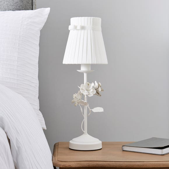 Chateau White Table Lamp Ivory